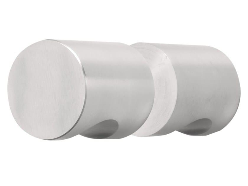 Stainless steel glass door handle BASIC   Stainless steel glass door handle by Formani