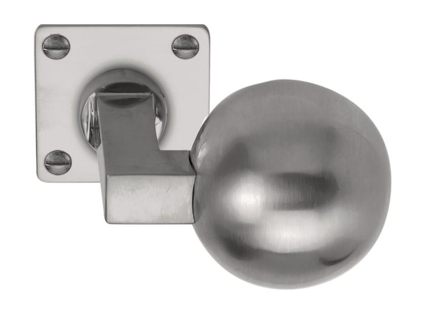 Nickel door knob TIMELESS   Door knob by Formani