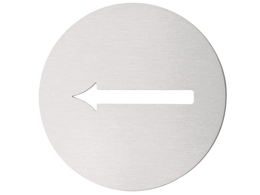 Stainless steel sign BASIC   Sign by Formani