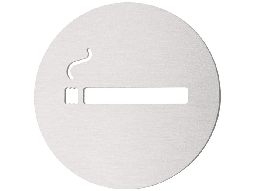 Stainless steel sign BASIC | Sign by Formani