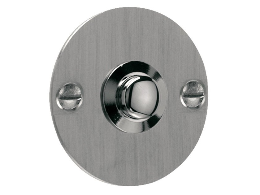 Nickel doorbell button TIMELESS | Doorbell button by Formani