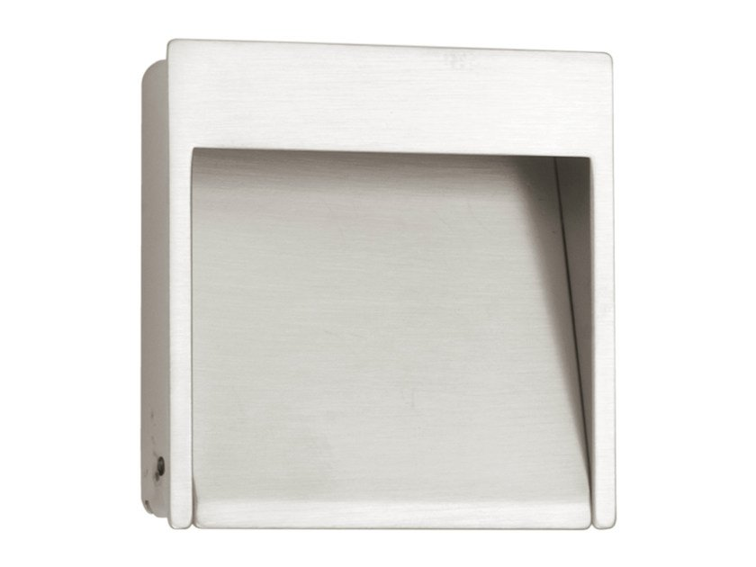 Recessed nickel Furniture Handle TIMELESS | Recessed Furniture Handle by Formani