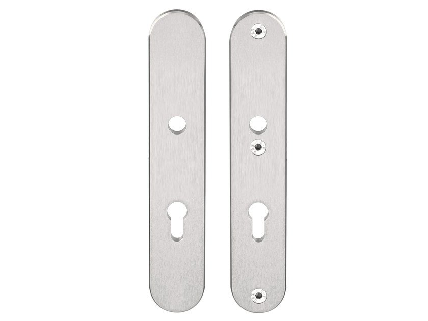 Oval stainless steel backplate BASIC   Stainless steel backplate by Formani