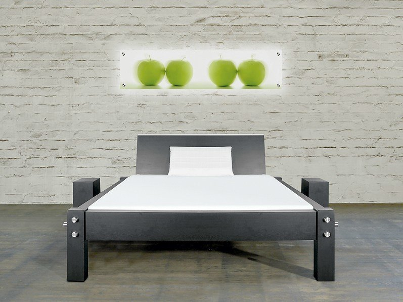 Double bed 318 | Bed by Wissmann raumobjekte