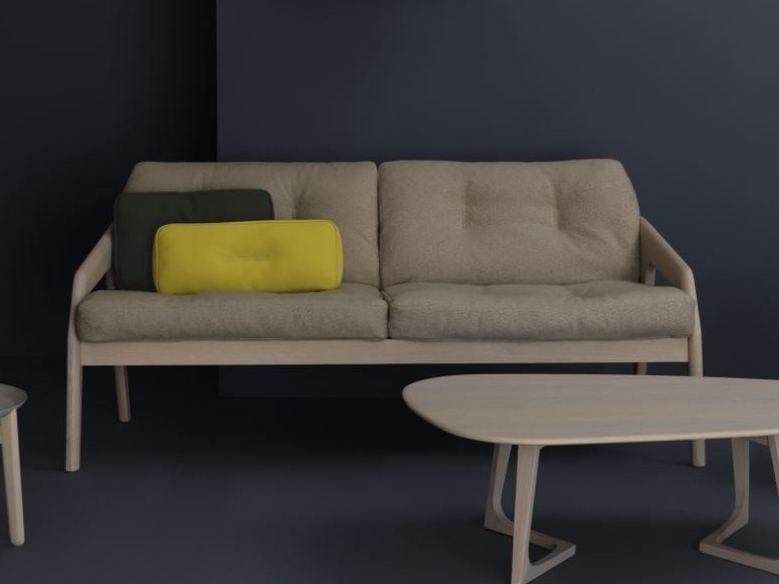 2 seater sofa FRIDAY 2 by ZEITRAUM