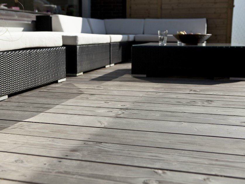 Douglas decking boards ALPIN by pur natur