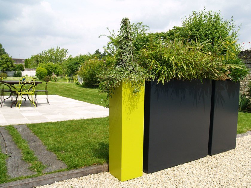 Fiber cement planter IRF by IMAGE'IN