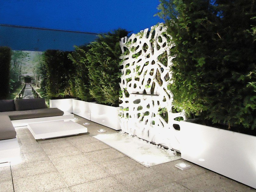 Fiber cement planter IRM by IMAGE'IN