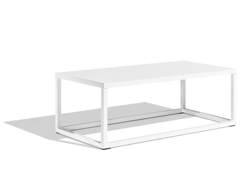 Low Rectangular garden side table CLUB | Rectangular garden side table by Bivaq