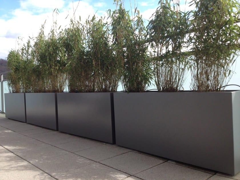 Fiber cement planter custom planters by image 39 in - Jardiniere xxl ...