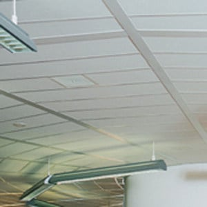 Acoustic mineral fibre ceiling tiles THERMATEX – SISTEMA I by Knauf Amf