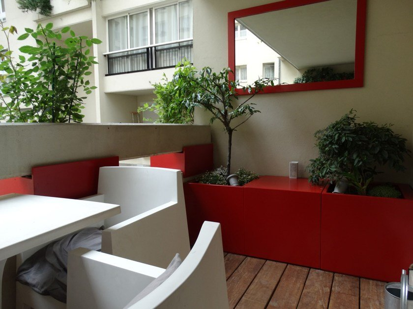 Garden cabinet / planter Mobilier outdoor by IMAGE'IN