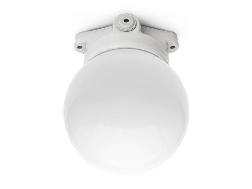 Opal glass ceiling lamp LINDNER LISILUX - 100796 by THPG