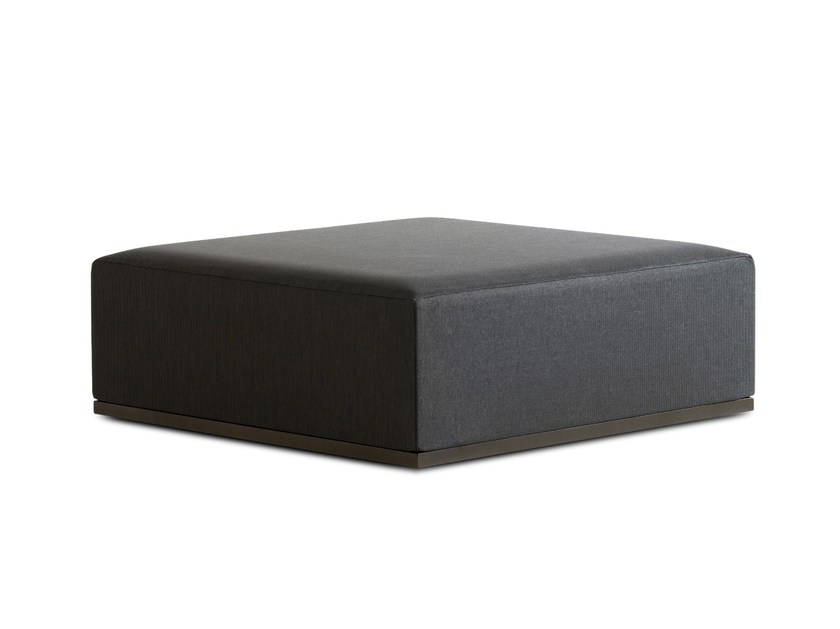 Square garden pouf MOOD | Square garden pouf by Bivaq