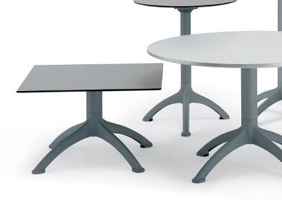 Drop-leaf square table K4 | Square table by Segis