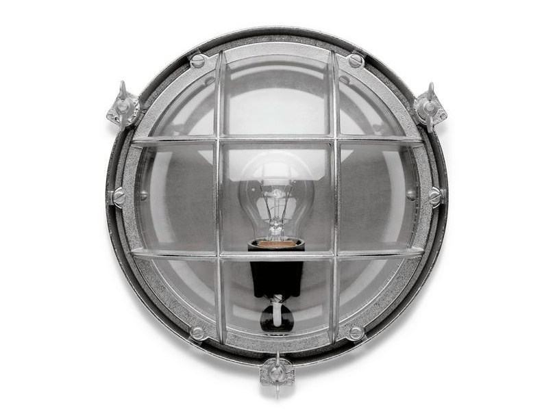 Chromed brass Wall Lamp 100015 | Screen light IP 23 chrome by THPG