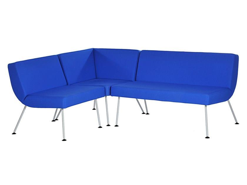 Corner sectional fabric sofa LA | Corner sofa by Sedes Regia