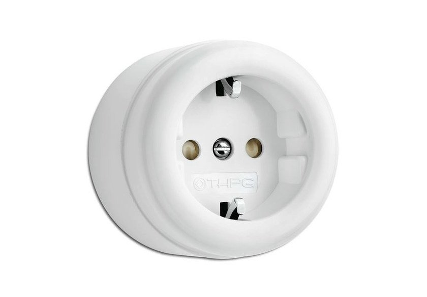 Single electrical outlet 184199 | Surface-mounted outlet by THPG