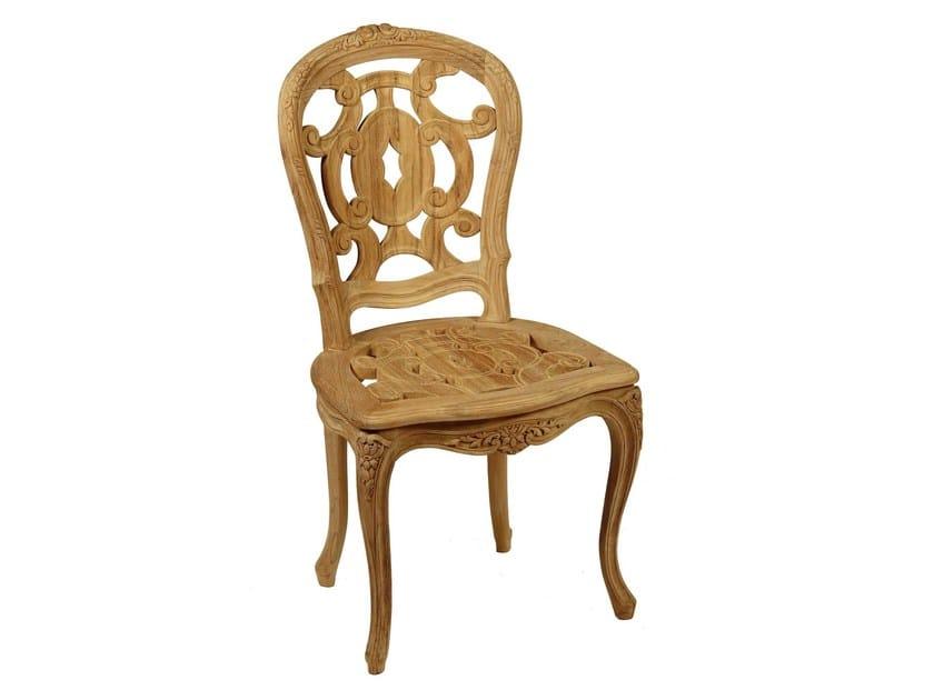 Teak garden chair GARANCE   Garden chair by ASTELLO