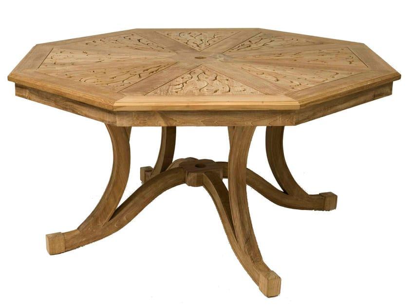Teak garden table HIBISCUS   Garden table by ASTELLO