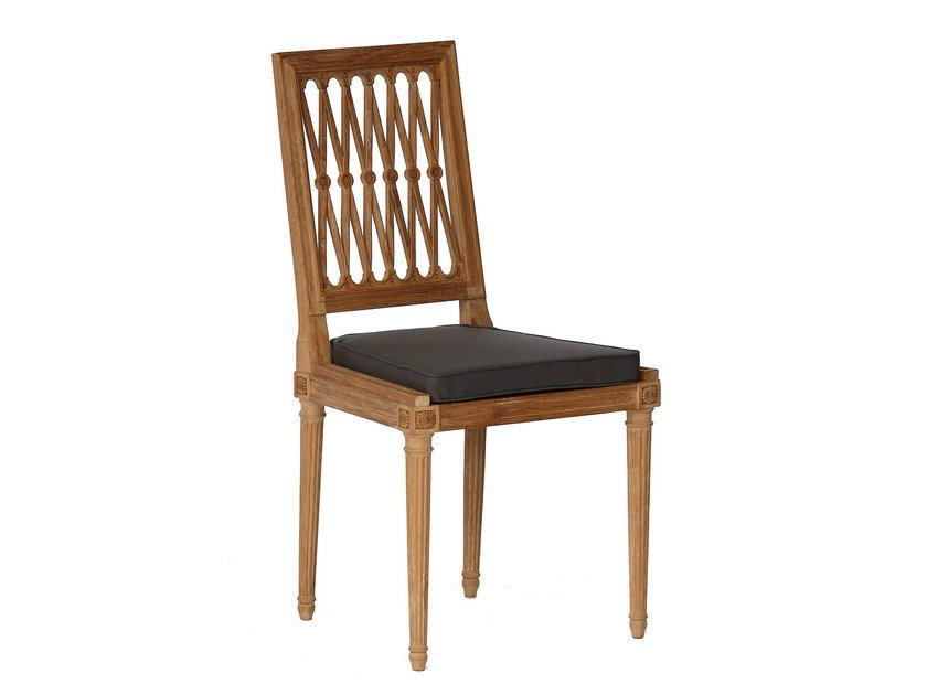 Teak garden chair SERPENTINE | Garden chair by ASTELLO