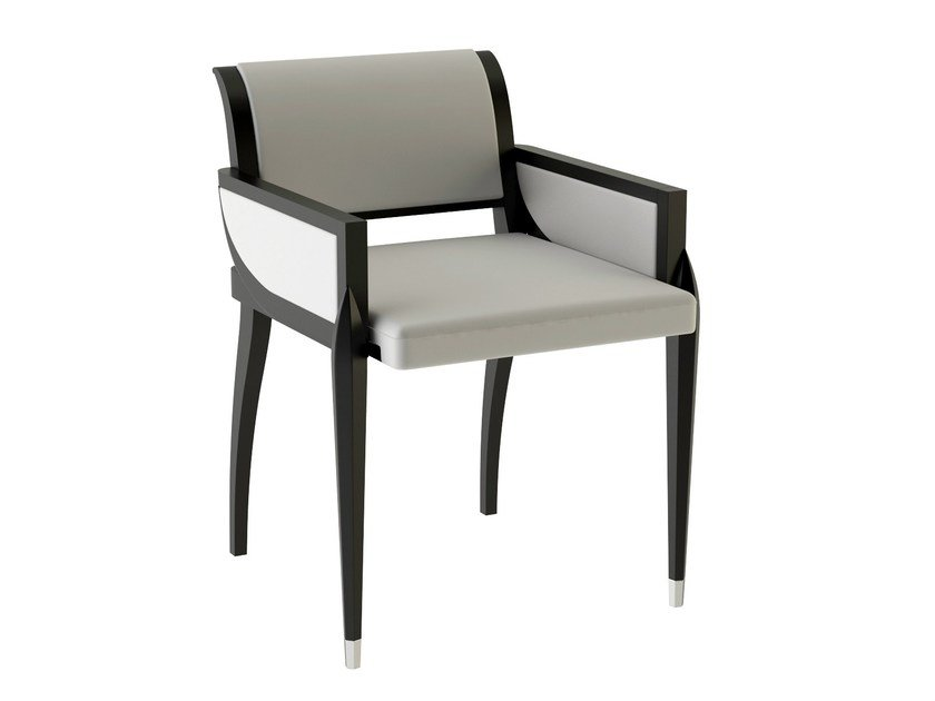 Deco easy chair with armrests IRIS INDOOR | Easy chair by ASTELLO