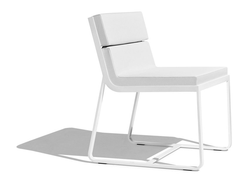 Sled base upholstered chair SIT   Chair by Bivaq