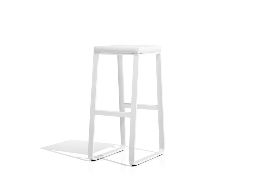 High sled base stool SIT | High stool by Bivaq