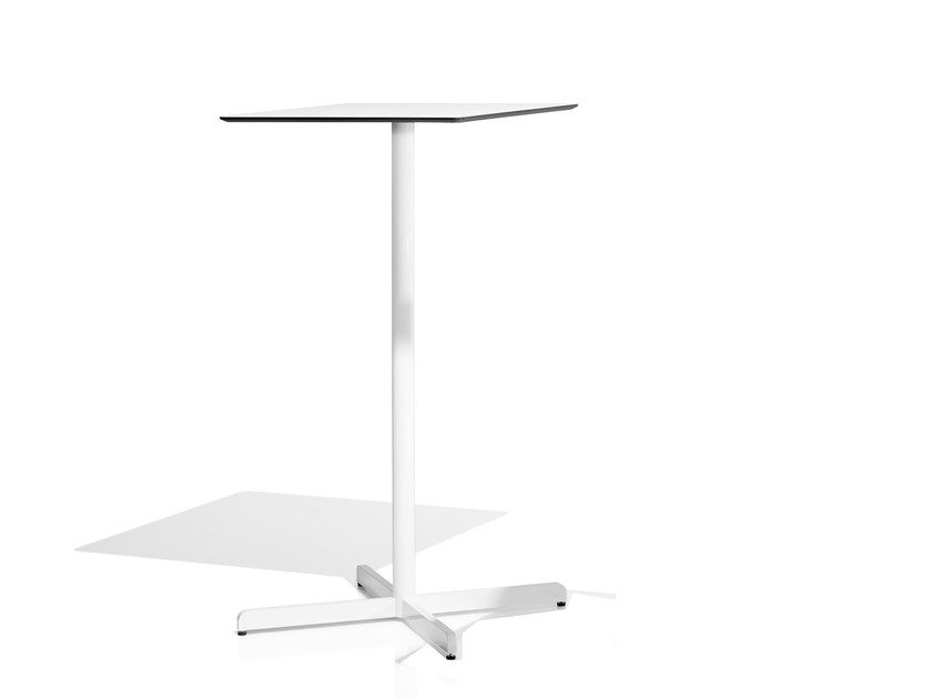 High table with 4-star base SIT | High table by Bivaq