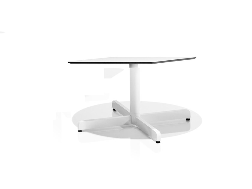 Low square coffee table SIT | Low coffee table by Bivaq