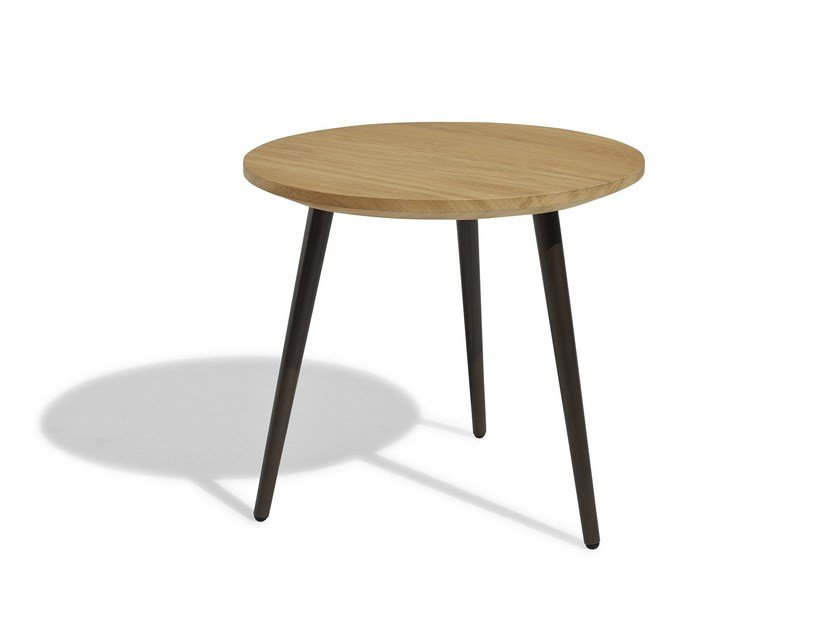 Low Round garden side table VINT | Round coffee table by Bivaq
