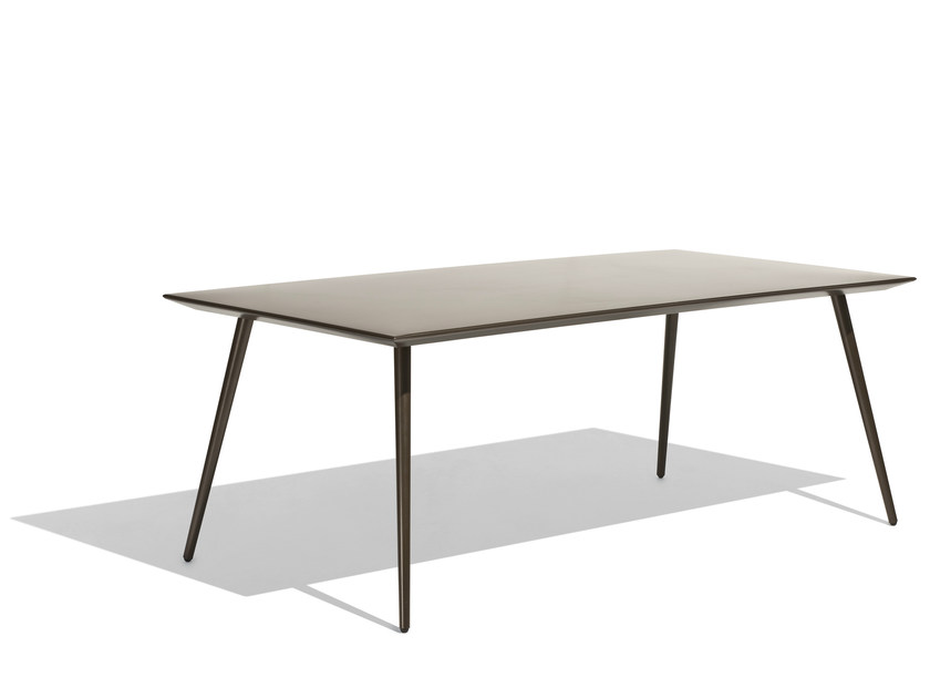 Rectangular garden table VINT | Rectangular table by Bivaq