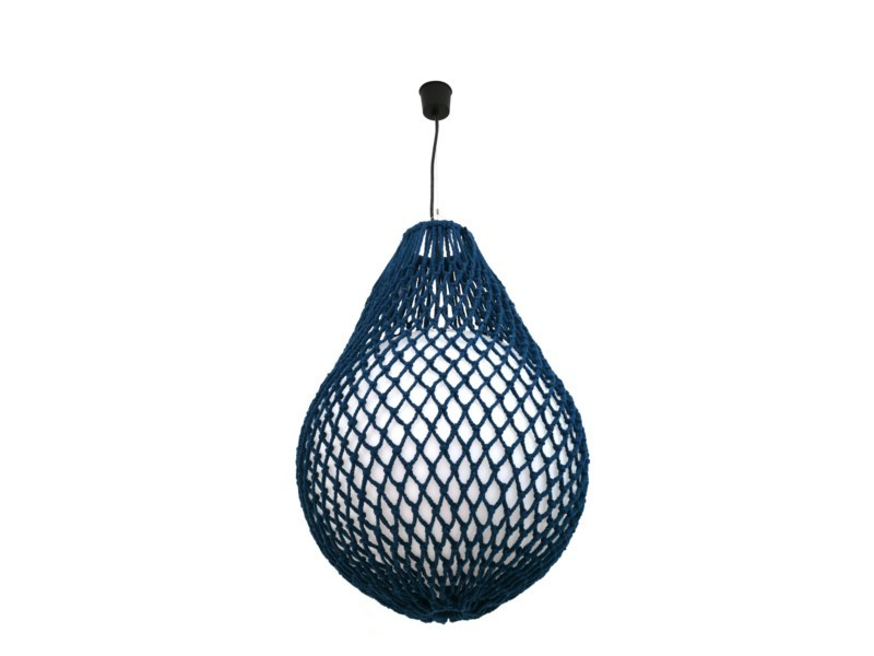 Handmade technical fabric pendant lamp TRAP | Pendant lamp by Darono