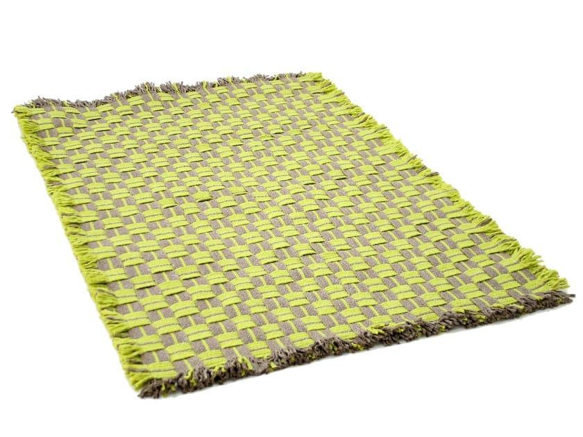 Handmade technical fabric rug GUARANI   Rug by Darono