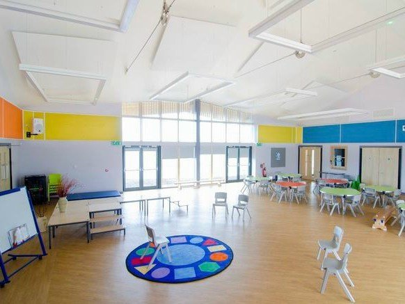Glass wool decorative acoustical panel Akusto™ Wall A by Saint-Gobain ECOPHON