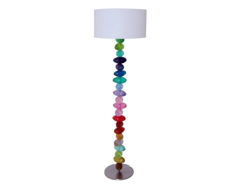Resin floor lamp ABIU | Floor lamp by Darono