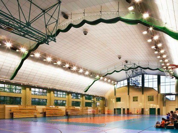 Sound absorbing glass wool ceiling tiles Ecophon Super G™ Plus A by Saint-Gobain ECOPHON