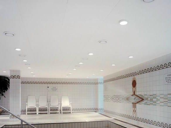 Acoustic glass wool ceiling tiles Ecophon Combison™ Uno Ds by Saint-Gobain ECOPHON