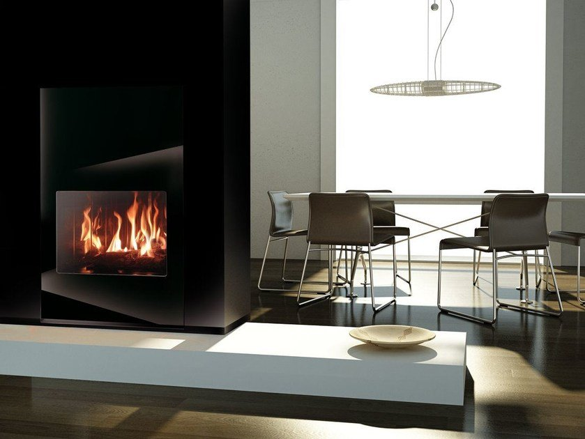 Gas Fireplace insert TORINO | Fireplace insert by ITALKERO