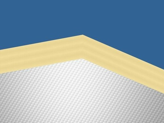 Glass wool Sound insulation and sound absorbing panel in mineral fibre Ecophon Combison™ Barrier by Saint-Gobain ECOPHON