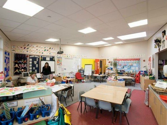 Acoustic glass wool ceiling tiles Ecophon Master™ Rigid A by Saint-Gobain ECOPHON