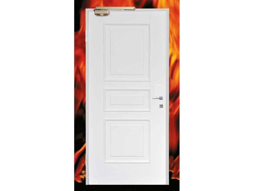 Fire-rated safety door FUEGO by OMI ITALIA