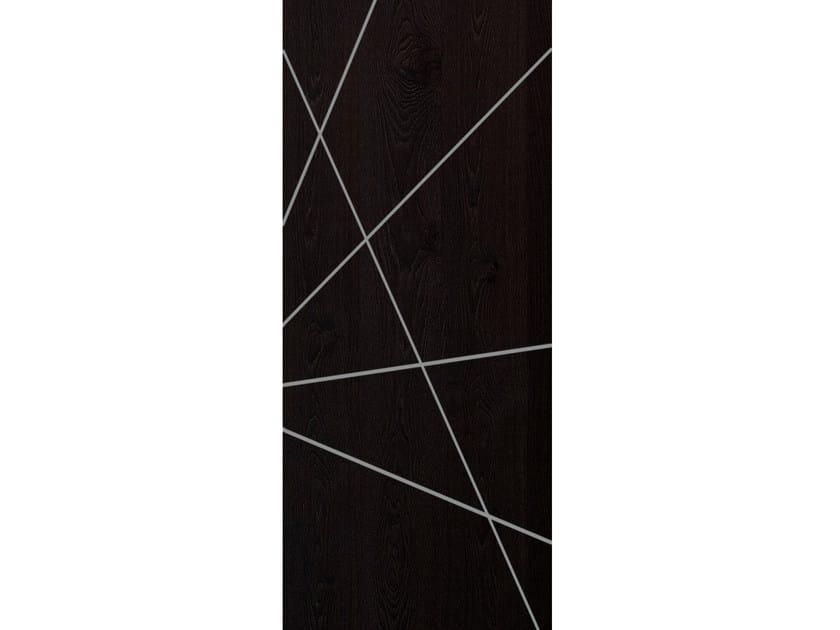 Oak armoured door panel GRAFFIO by OMI ITALIA
