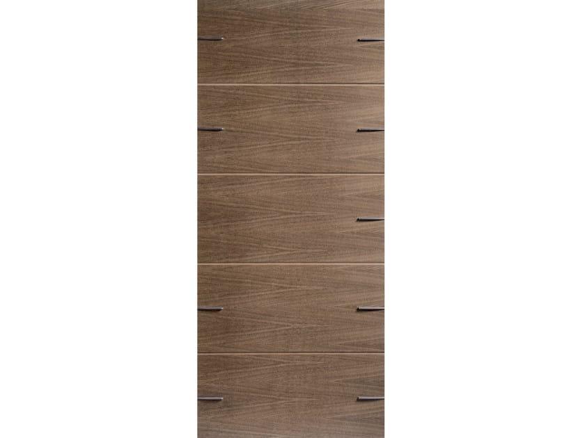 Wood veneer armoured door panel DESERT by OMI ITALIA