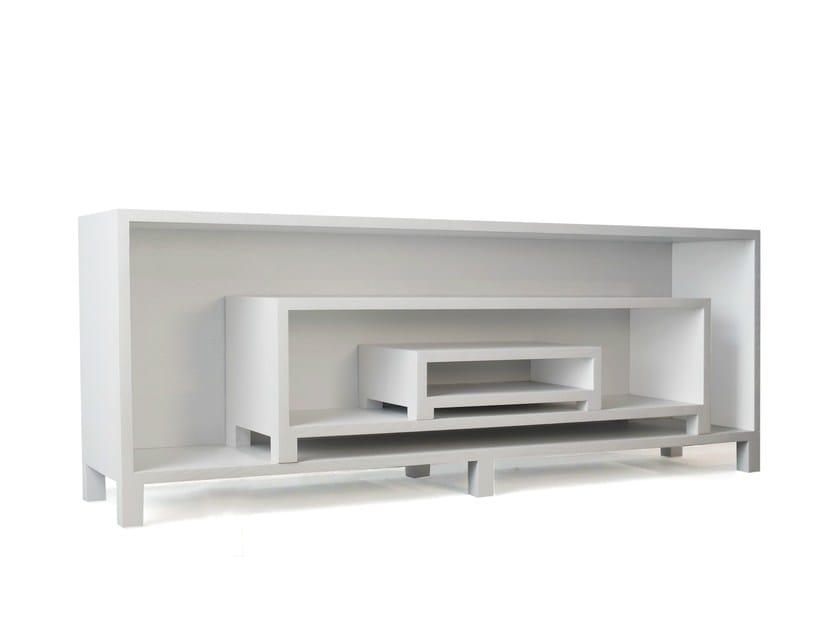 Modular wooden sideboard ORA by Branca Lisboa