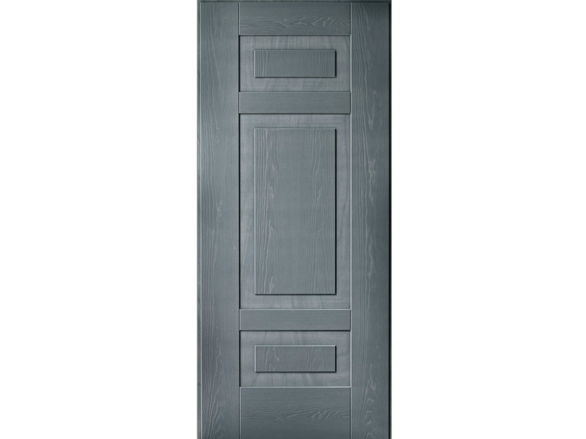 Multi-layer wood armoured door panel A501 by OMI ITALIA