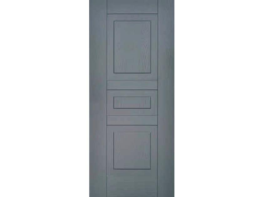 Multi-layer wood armoured door panel RILIEVO (A503) by OMI ITALIA