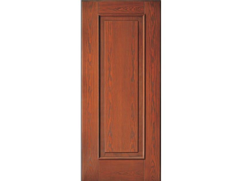 Multi-layer wood armoured door panel QUADRA (A504) by OMI ITALIA