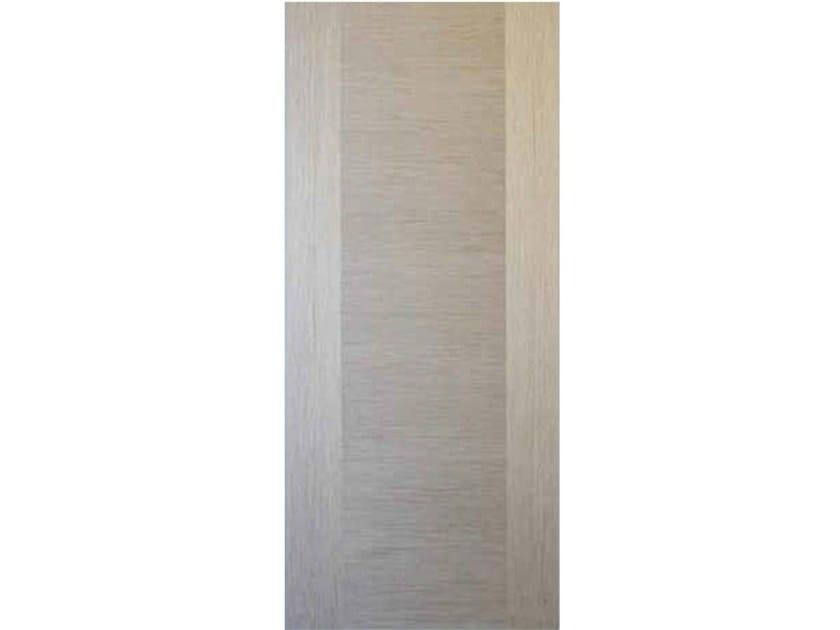 Wood veneer armoured door panel L163 by OMI ITALIA