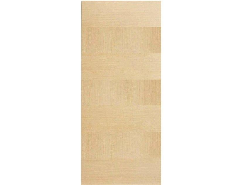 Wood veneer armoured door panel L157 by OMI ITALIA